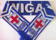 WIGAN Football Scarves NEW from Superior Acrylic Yarns