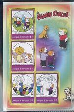The Family Circus Comic Strip Bil Keane Souvenir Stamp Sheet #2780 Antigua E72