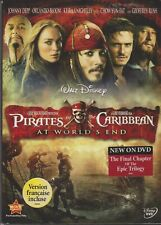 Pirates of the Caribbean: At Worlds End (DVD, 2007) + Box Sleeve