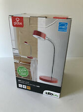 Red Globe Electric LED Desk Lamp 5W / 250 Lumens / 35,000 Hrs 3000K NEW