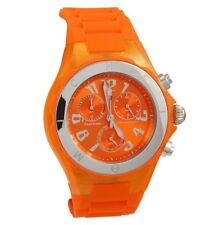 MICHELE TAHITIAN JELLY BEAN CHRONOGRAPH WATCH, Brand New with tags and case