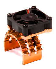 T8635ORANGE T2 Motor Heatsink w/Fan for TRX 1/10 Stampede 4X4 & Slash 4X4