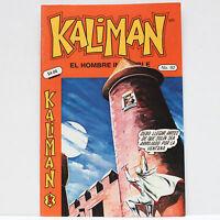 Kaliman El Hombre Increible No 92 El Asesino Invisible Revista Comic RARE