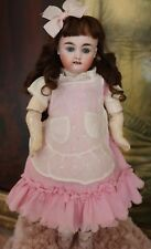 Antique Kestner German Bisque Doll, 12.5 IN, Antique Bisque Doll, Square Teeth
