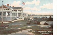 Casino & Cape Shore, Portland, Maine 1905 Vintage Postcard