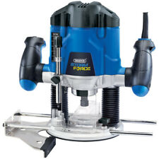 DRAPER 1200W ADJUSTABLE PLUNGE ROUTER CUTTER ELECTRIC VARIABLE SPEED 83612