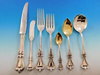 Old Colonial by Towle Sterling Silver Flatware Set for 12 Service 88 pieces