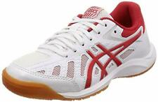 ASICS Table Tennis Shoes ATTACK HYPERBEAT SP3 1073A004 White Red US5(23.5cm)