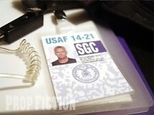Stargate SG-1 - SGC Security Pass Clip-on Prop / Cosplay ID Card