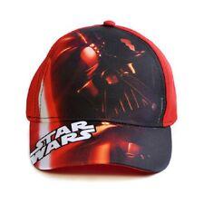 Disney Star Wars infantil Gorra béisbol, rojo / Negro