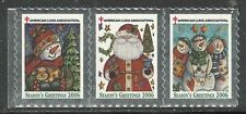 U.S. Christmas Seals - 2006 issue - mnh strip of 3