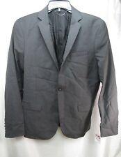 Men's Diesel J-Usop 1 Button Notch Lapel Blazer Gray Size 52 R