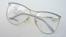 Lacoste übergroße Damenfassung Oversizedbrille hellblau-mint Rarität Boho size M