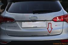 Hyundai Santa Fe III 2012- Chrom Zierleiste Heckleiste Chromleiste 3M Heckklappe