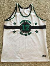 Mens Headgear Boston Massachusetts Official Street Ball All Stars #12 Jersey