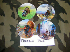 Turkey Call----PICTURED GLASS--- VARIETY FREEDOM pack