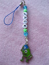 MONSTER INC  SUPER ENAMEL CHARM BAG / PHONE CHARMS PERSONALISED party BAG gift
