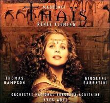 Massenet's Thais - Renne Fleming CD NEW