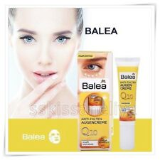 Balea Eye Cream 15ml Anti Wrinkle Vegan Q10 + Omega Complex Beautiful Skin
