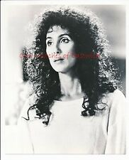 """Cher-Witches of Eastwick 8"""" x 10"""" Black & White Photo-1987-#452"""