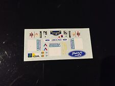 DECALS 1/43 FORD ESCORT WRC COSWORTH THIRY RALLYE SUEDE SWEDISH 1998 RALLY