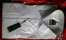 "Olymp non iron men's shirt modern fit 16"" collar normally sells for 49.95 white"