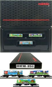 MARKLIN Z SCALE 88126-18 M/M 0686-0687-0688 Refrigerator Car COLLECTOR Set  C9