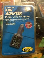 Mad Catz Universal Car Adapter Purple for Game Boy Etc. NEW