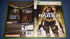 Tomb Raider: Underworld (Microsoft Xbox 360, 2008) Complete