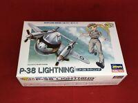 Hasegawa EGGPLANE P-38 Lightning Model Kit NEW from Japan