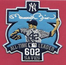 "New York Yankees Mariano Rivera 602 Saves 4 X 4""  Iron on Patch Free Shipping"