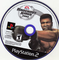Knockout Kings 2002 (Sony PlayStation 2, 2002) DISC ONLY WORKS