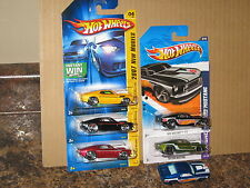 Hot Wheels Nice Lot of 6 1969 Ford '69 Mustang Variation Black 2007 New Models