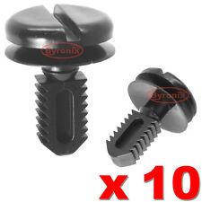 10 X Bmw Moldura De Plástico Clips Arranque Forro Dash cubierta de batería Turn enchufe Lock