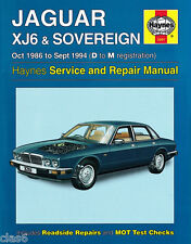Jaguar XJ6 XJ40 Owners Workshop Manual 1986 to 1994 by Haynes *NEW