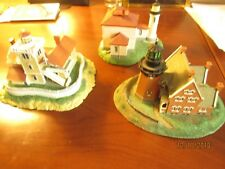 """Three Lighthouses, """"Danbury"""", Block Island,Admirality, East Brother, Excellent"""