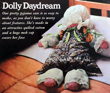 Rag Doll Sewing Pattern Copy To Make Dolly with Mob Cap Pyjama/Nightdress Case
