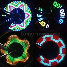 Bicycle Motorcycle Bike Tyre Tire Wheel Lights 32 LED Flash Spoke Light Lamp New