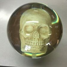 Clear SKULL  OTB BOWLING ball 15 lbs   BRAND NEW IN BOX!!!   #009