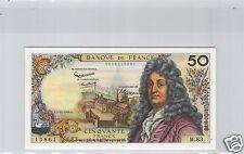 FRANCE 50 FRANCS RACINE 5.11.1964 M.83 N° 0206115861