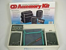 Recoton CD Accessory Kit - Speakers, case, cass adapter - new