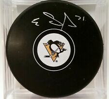 EVGENI MALKIN Pittsburgh Penguins AUTOGRAPHED Auto Signed NHL Hockey Puck COA