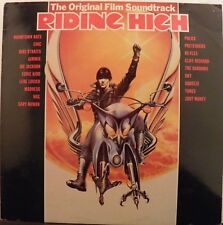 RIDING HIGH Movie Soundtrack LP (Arrival Records, 1981) (Import) (Zoot Money)