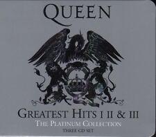 QUEEN / GREATEST HITS I II & III - PLATINUM COLLECTION * NEW 3CD BOX-SET * NEU *
