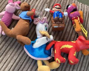mcdonalds toys bundle Piglet Doodles Mario Daisy Duck Animal