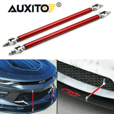 Front Bumper Lip Splitter Strut Rod Tie Support Bar For Dodge Charger Challenger