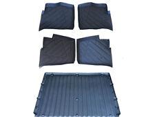 5 piece Set Polaris Ranger floor mats Liners rubber 2013-14-15-16-17 900 XP Crew