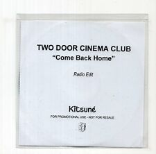 (JC52) Two Door Cinema Club, Come Back Home - 2010 DJ CD