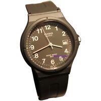 Casio Unisex Black Casual Analog with Date Watch MW59-1B