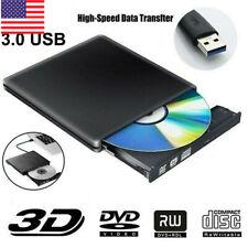 External Usb 3.0 Cd Dvd +/-Rw Writer Drive Burner Reader For Mac Pc Laptop